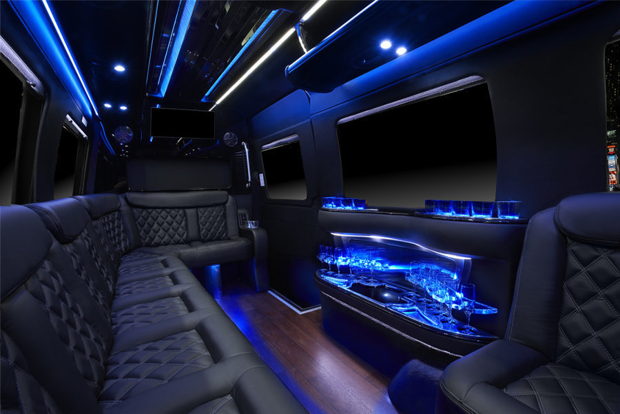 San Francisco Mercedes >> NEW Mercedes Sprinter Limousine (10-12 passengers) - San Francisco Party Buses in Party Bus Bay ...
