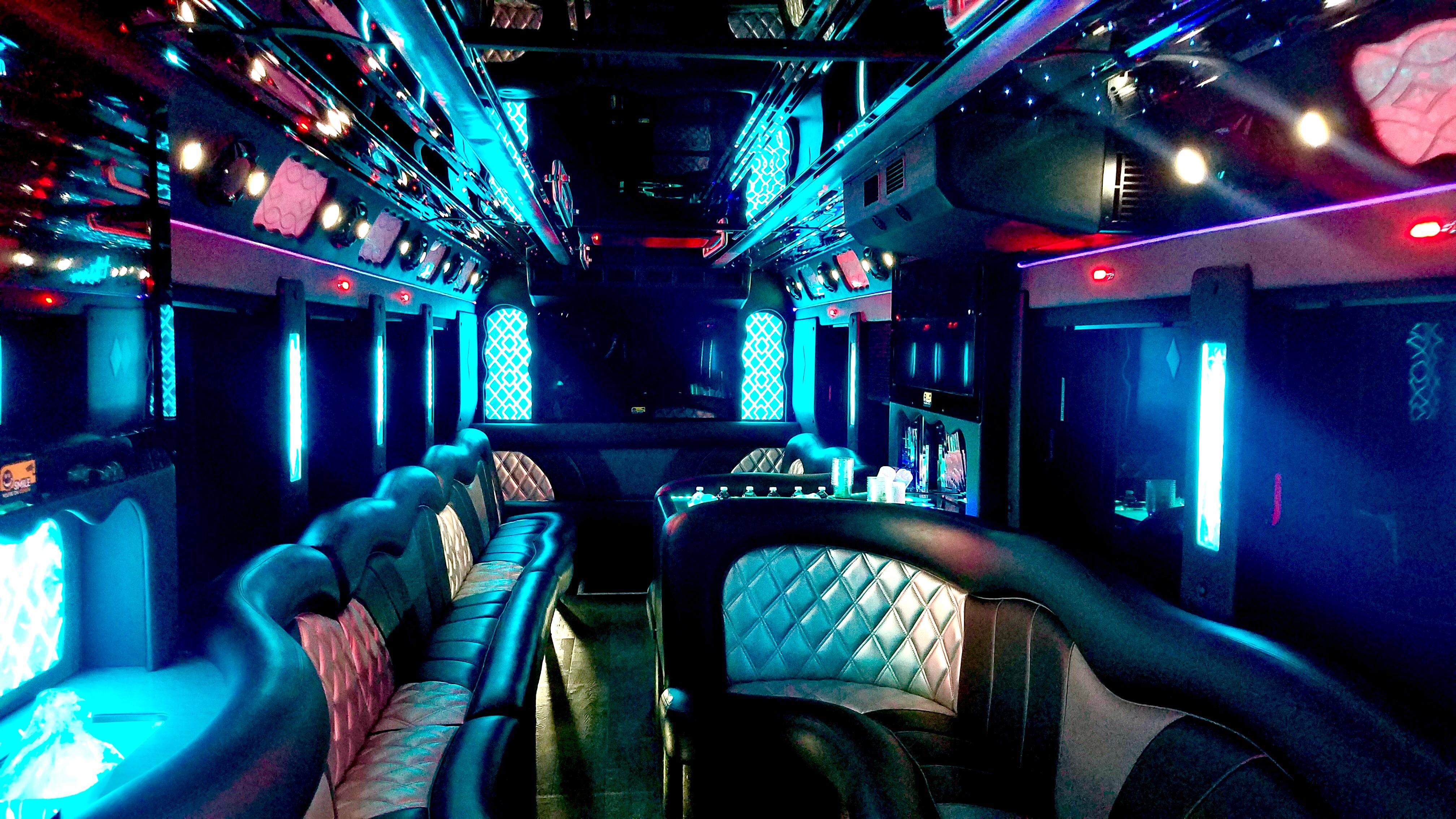 New Mona Lisa Party Bus 30 40 Passengers San Francisco